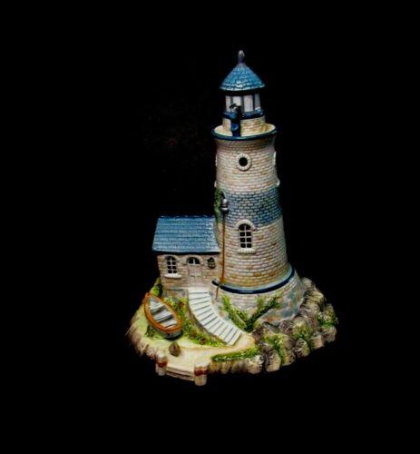 Fitz and Floyd Lighthouse Figurine Seaboard Nautical Oceanside Bluff