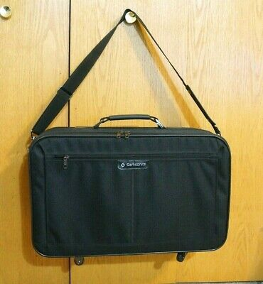 Vintage Samsonite Easy Going III Wheeled Carry On Bag with Shoulder Straps Easy Go Luggage Strap