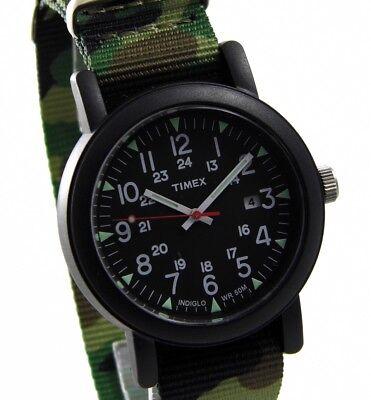 TIMEX UHR EXPEDITION CAMPER BLACK ABT503 Indiglo Beleuchtung > > > NEU (Indiglo Uhr)