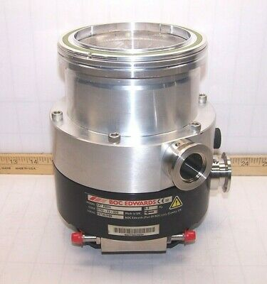 Boc Edwards Turbo Molecular Vacuum Pump Ext 255hi 5.6 Kg 24 Vdc B753-03-000
