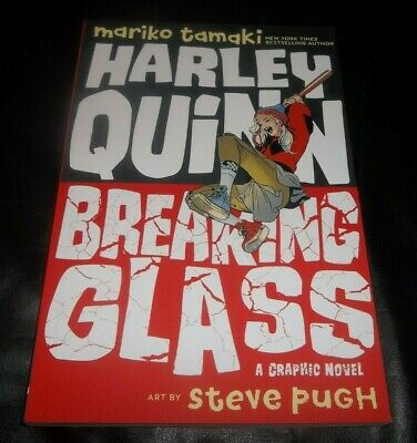 Harley Quinn Glasses (Harley Quinn: Breaking Glass Paperback - September 3,)