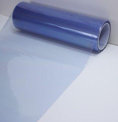 (Light Blue Headlight Taillight Fog Light PVC Tint Overlay Vinyl Film 72