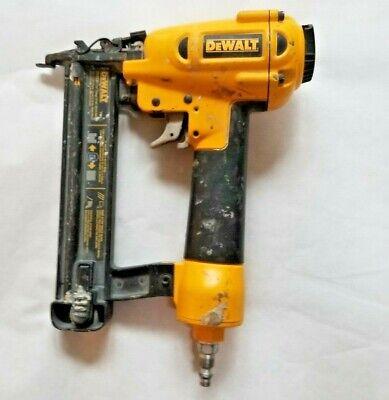 Dewalt D51236 18 Gauge 1-14 Brad Nailer With Air Inlet Pneumatic Tool