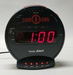 Sonic Bomb Alert Replacement Alarm Clock Unit Only - No shaker unit SBB500SS