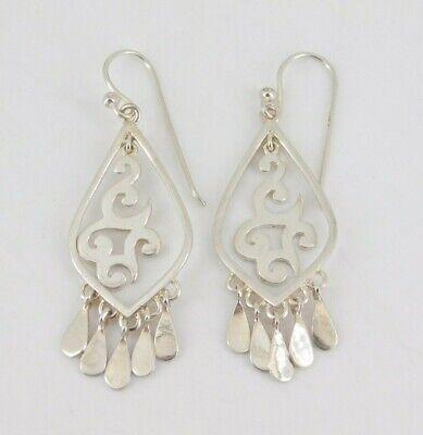"""Sterling Silver /""""Elongated Elegance/"""" Earrings W3279 SILPADA NIB!"""