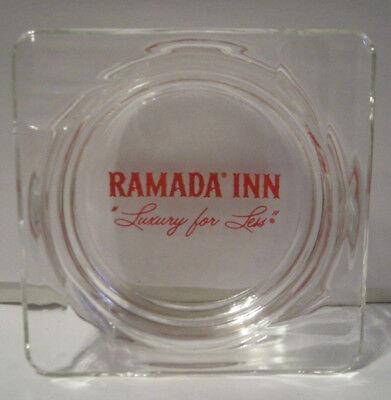 Vintage Ramada Inn  Luxury For Life   Ashtray  4 1 2   Very Nice