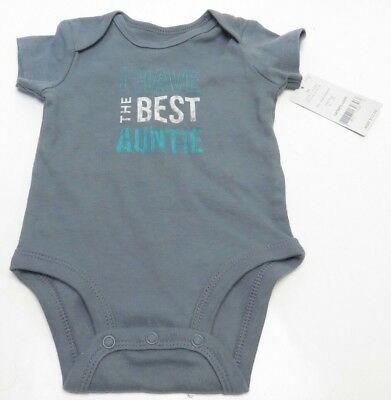 I have the best auntie baby infant Carters bodysuit 3m New