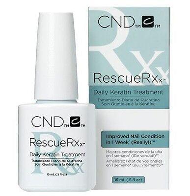 CND Rescue RXx 15ml ~ DAILY KERATIN TREATMENT ~