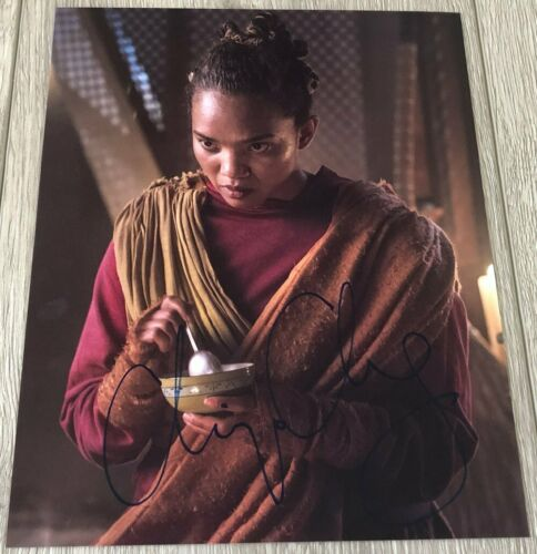CHIPO CHUNG INTO THE BADLANDS SIGNED AUTOGRAPH THE MASTER 8x10 PHOTO w/PROOF