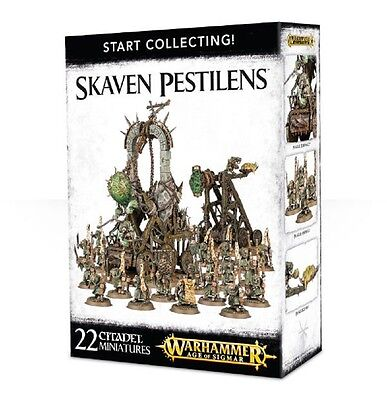 Warhammer Age of Sigmar Start Collecting Skaven Pestilens, New Toys And Games