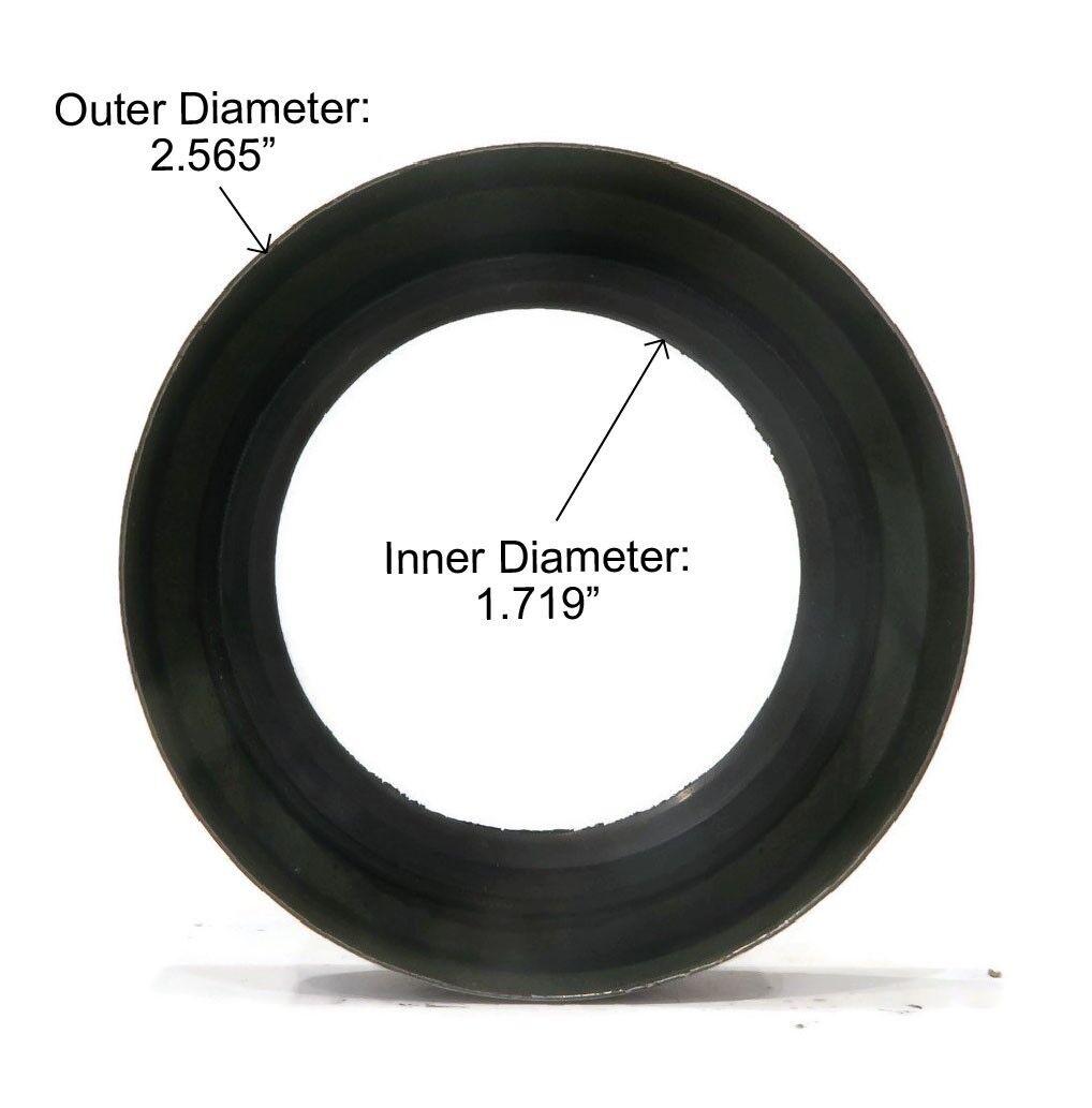 "4 171255TB Trailer Hub Wheel Grease Seal 3500# E-Z Lube Axle 2.565/"" OD 10-19"