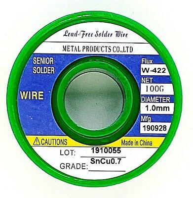 """Lead Rosin Core Solder Wire Soldering 0.032/""""//0.8mm 100g Sn63 Pb37 Flux 2/% 3.5oz"""