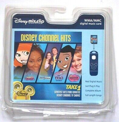 Disney Mix Clip Disney Channel Hits Take 1 (2004) - WMA/MMC Digital Music Card (Mix Clip Digital Music Card)