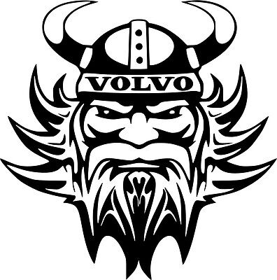 VOLVO VIKING Sticker Car Surf Vinyl Decal Sticker EURO JDM DUBV Funny Jap VW