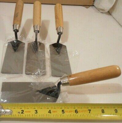 Margin Trowel 4 Trowels 2 X 5 Inch Concrete Tools 4pc.