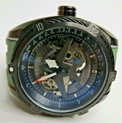 Invicta Aviator Automatic Watch Men's Gunmetal Green 28169