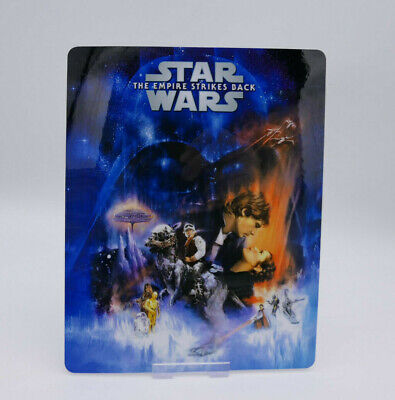 STAR WARS The Empire Strikes Back Bluray Steelbook Magnet Cover (NOT LENTICULAR)