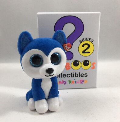 Ty Beanie Boos Mini Boo Series 2 Collectible Figure Skylar Husky Dog  2 Inch