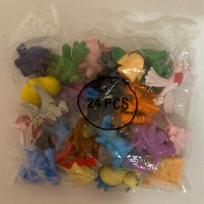 Pokemon Mini Figures 24 Pieces Packaged NEW