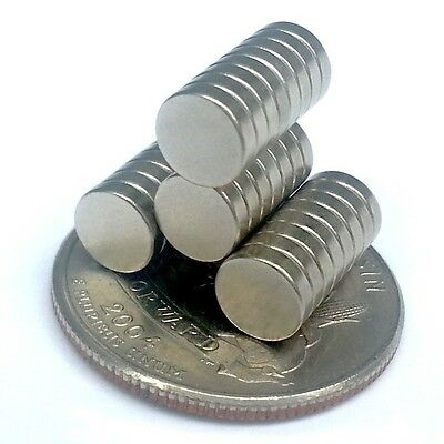 New Neodymium Magnets 14 X 116 Pack Of 30 Super Strong N48 Permanent