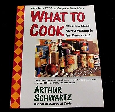 Bbq Food Ideas (Cookbook : WHAT TO COOK Easy To Make Recipes Meal Ideas by Arthur Schwartz)