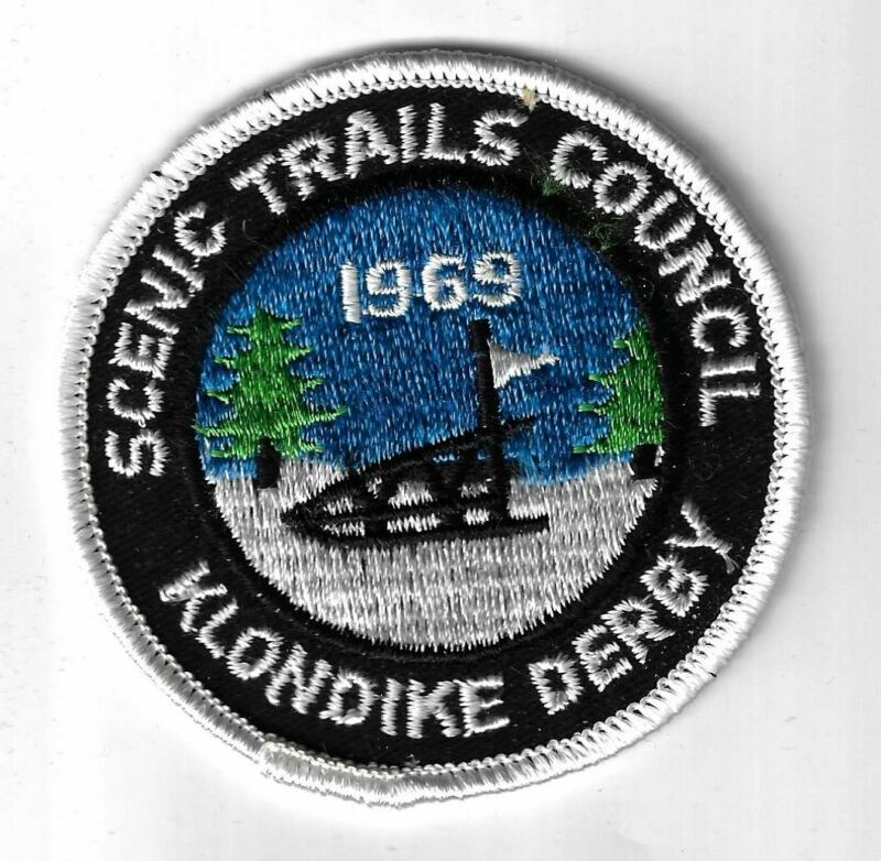 1969 Klondike Derby Scenic Trails Council WHITE Border [MX-4913]