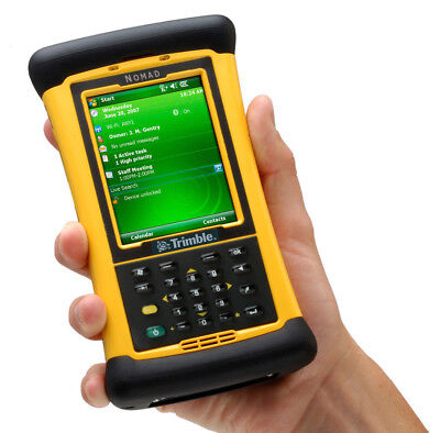 New In Box Trimble Nomad 800lc Mobile Datalogger Gps Bt Wlan W Software Manual