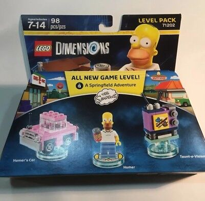 Lego Dimensions  - New Simpsons Homer Level Pack
