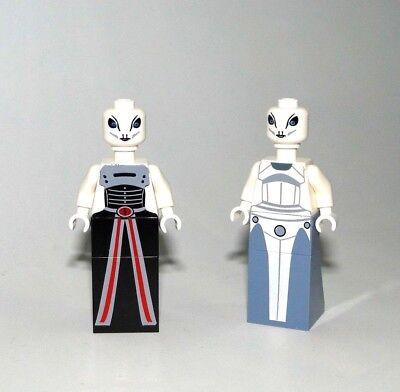 2 Kaminoans Taun We and Lama Su CUSTOM Star Wars™® aus LEGO®