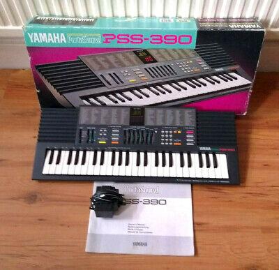 Yamaha  PSS 390 Keyboard Synth Mint .Free Post.