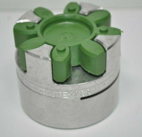 "NEW KTR ROTEX GS28 Lite Jaw Coupling Hub w/ Green Spider (64 Shore D) - 1"" Bore"