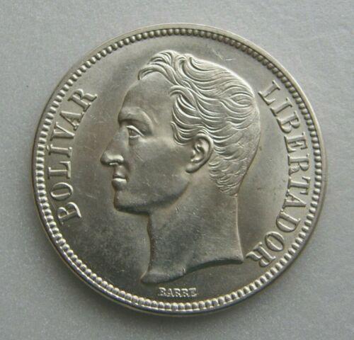 "Venezuela Coin ""Fuerte"" 5 Bolivares Bs 1935 Silver .900 37.2mm"