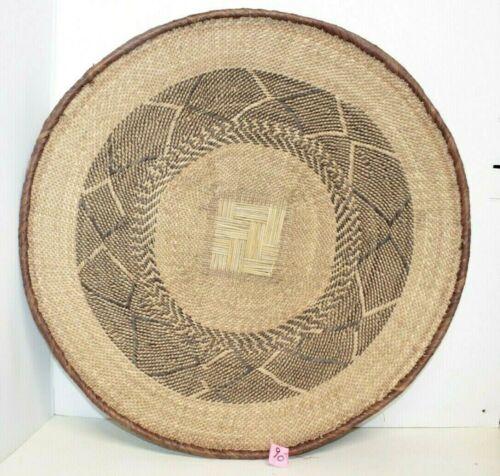 """Binga Tonga Basket wall decor African Art Zimbabwe 23""""   #90"""