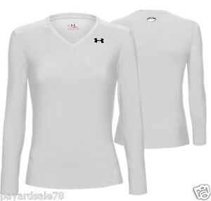 Women 039 s medium under armour compression heatgear long for Under armour heatgear white shirt
