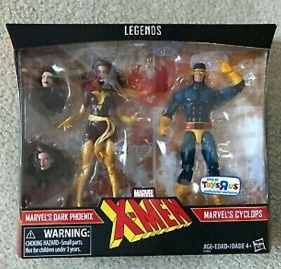 Marvel Legends Dark Phoenix and Cyclops Toys R Us Exclusive 2 Pack New!