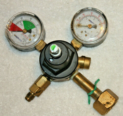 Taprite 3700 Series CO2 Primary Dual Gauge Regulator Beer Brewing Soda