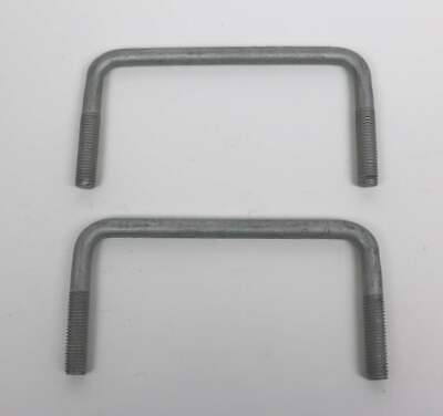 2 x Unsinn Bügelschraube 122 x 60 x 35 mm für Unsinn Rahmenprofile U-Bügel