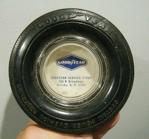 Vintage Goodyear  Tire Ashtray Jericho NY