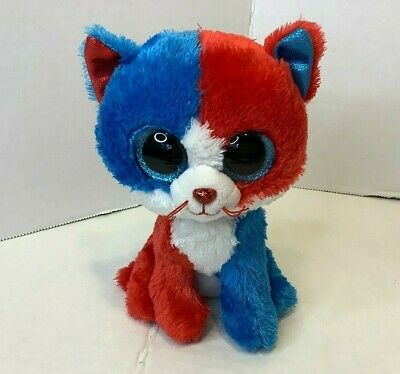 Ty Beanie Boos FIRECRACKER the Cat Claire's Exclusive 6