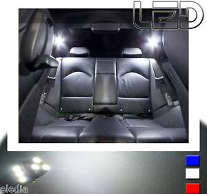 pack led int rieur plafonnier 7 ampoules blanc pour bmw. Black Bedroom Furniture Sets. Home Design Ideas
