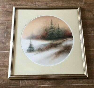 Amber Glow Arnold Alaniz print Merrill Chase Galleries picture winter tree frame