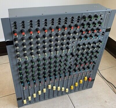 Aries MixRack 10x4x8, Pro Mixer with Outstanding Versatility For Recording