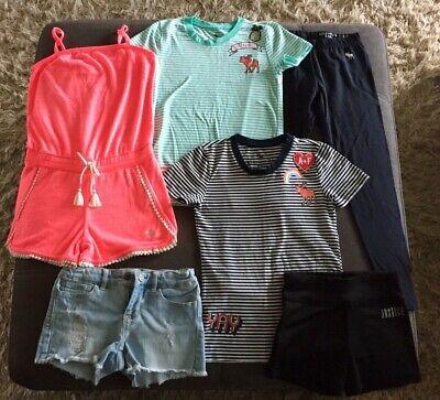 Girls Abercrombie Gap Justice Clothes Lot of 6 Items Sz 7/8 Excellent