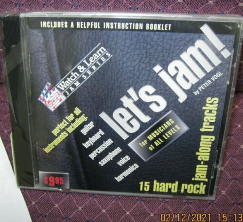 watch and learn series -- lets jam 15 hard rock jam along tracks for all