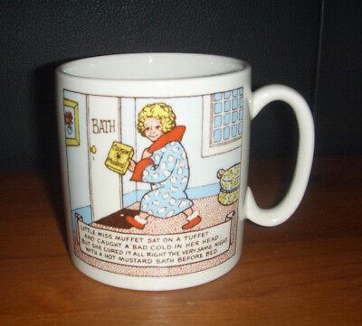 Vintage Colman Mustard Advertisement Midi Mug by Lord Nelson Pottery