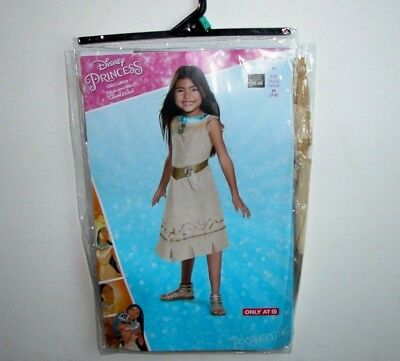 NWT NEW Halloween Costume Disney Princess Pocahontas Child M (7-8)
