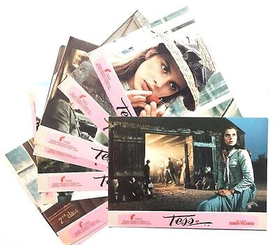 "Vtg 1982 Roman Polanski ""TESS"" Movie Press Kit 12 Color Photos (Renn Production)"