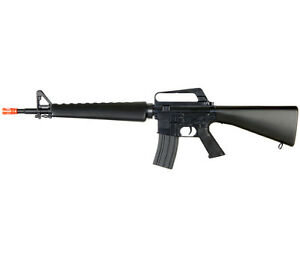 WELL M16A2 M4 A1 M16 METAL VIETNAM SPRING AIRSOFT RIFLE SNIPER GUN w/ 6mm BBs BB
