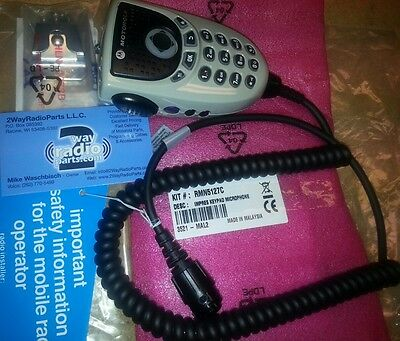 Motorola Mototrbo Impres 4-way Navigation Keypad Microphone Enhanced Audio New