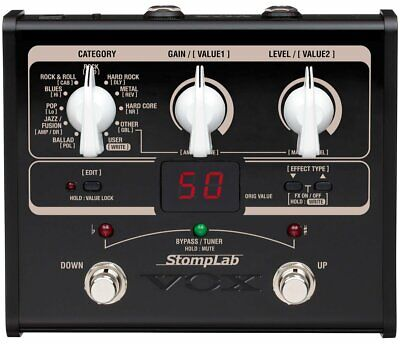 VOX StompLab SL1G Modeling Guitar Floor Multi-Effects Pedal
